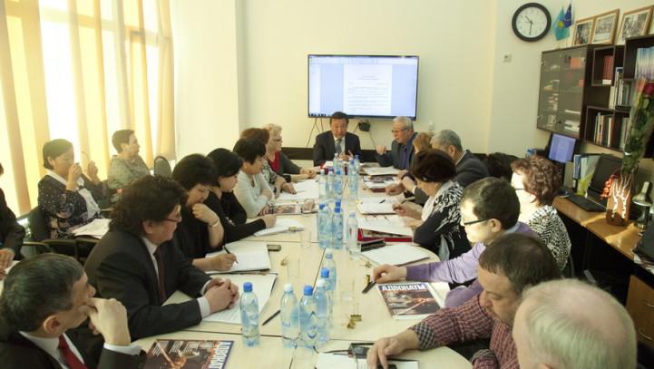 Заседание Президиума Республиканской коллегии адвокатов прошло в стенах Центра стажировки и повышения квалификации адвокатов АГКА