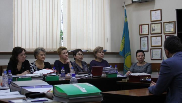 Начала работу аттестационная комиссия Алматинской городской коллегии адвокатов.