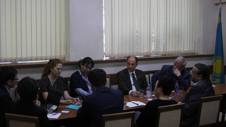 Состоялась встреча посла ОБСЕ с адвокатами АГКА