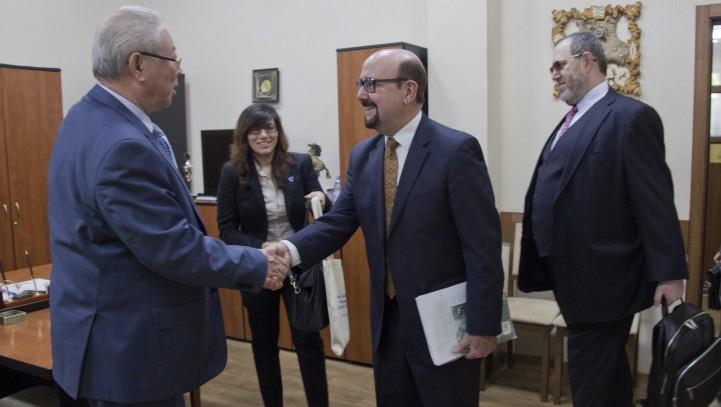 Делегация международной ассоциации адвокатов посетила Алматинскую городскую коллегию адвокатов