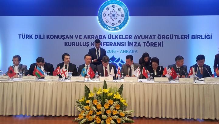 Учреждена  Ассоциация Адвокатских Организаций Тюркоязычных и Родственных Стран