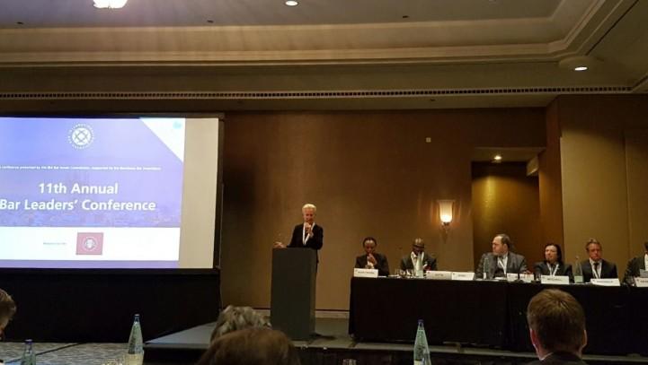 Второй день конференции руководителей адвокатских ассоциаций.