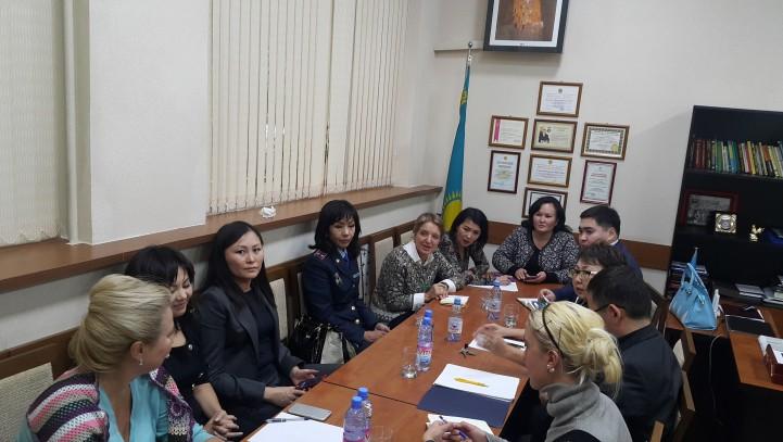 Встреча международных экспертов по делам о насилии в быту