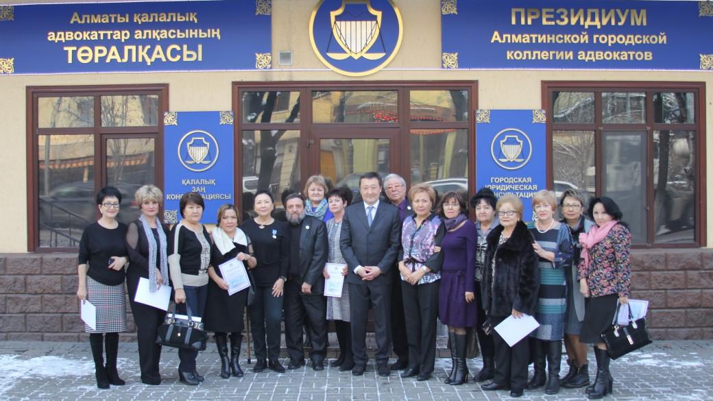 С 25-летием профессиональной деятельности адвокаты Алматы!