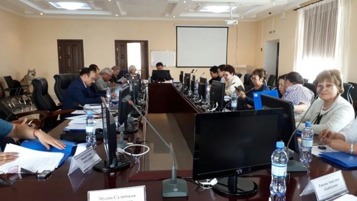 В Шымкенте прошло заседание президиума Республиканской коллегии адвокатов.