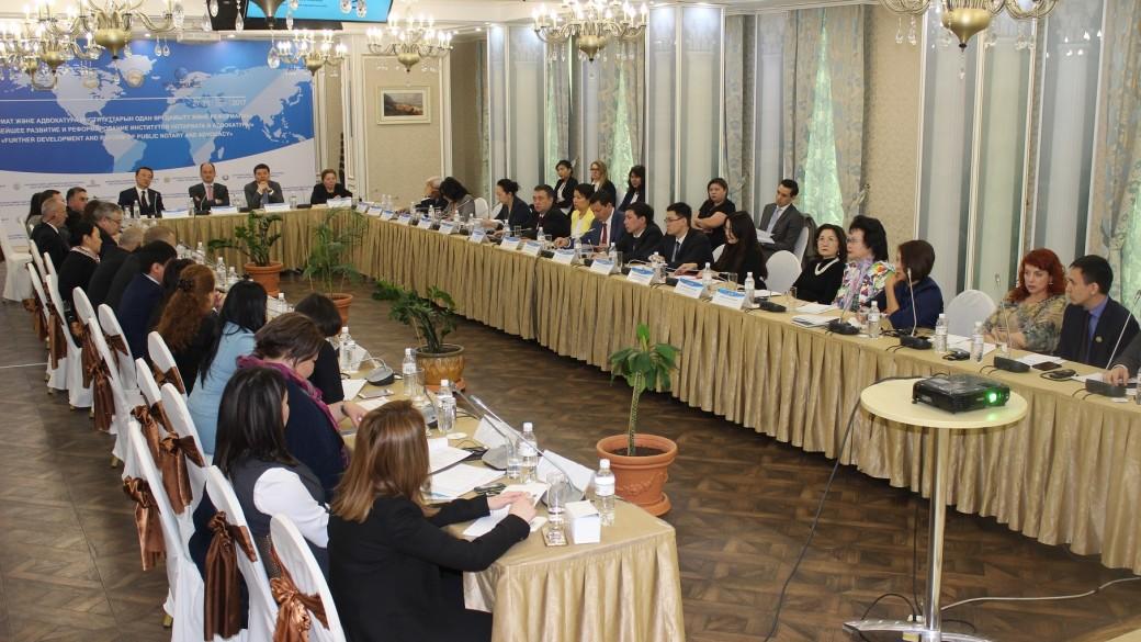 Круглый стол на тему:  «Дальнейшее развитие и реформирование института адвокатуры».