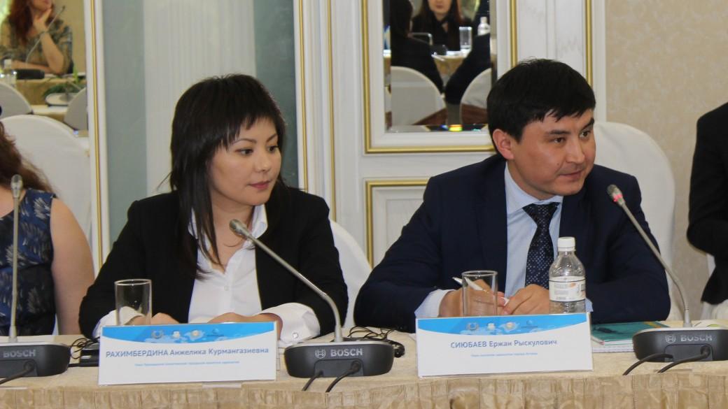 Выступление адвоката Рахимбердиной Анжелики на Круглом столе.