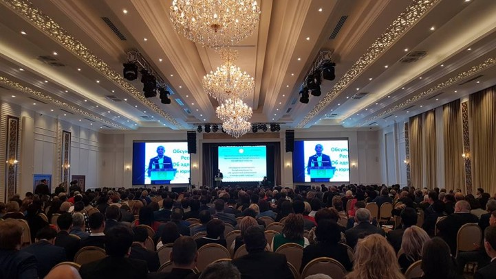 Мурат Жанбаев о конференции, организованной Республиканской коллегией адвокатов