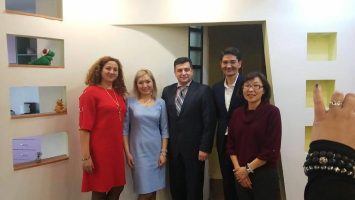 Встреча с международным экспертом В. Захария