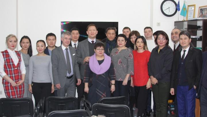 Занятие «Организация работы солиситоров в Великобритании и порядок приобретения статуса солиситора для адвокатов Республики Казахстан»