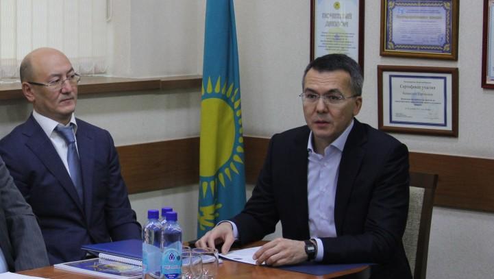 Встреча прокурора г. Алматы с адвокатами АГКА