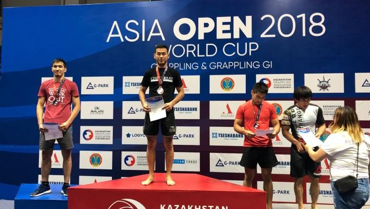 Адвокат АГКА завоевал титул чемпиона Азии по грэпплингу