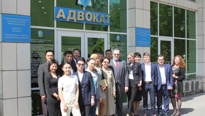 Встреча с Делегацией The International Bar Association
