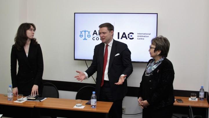 Встреча с руководителем аппарата Суда МФЦА и МАЦ