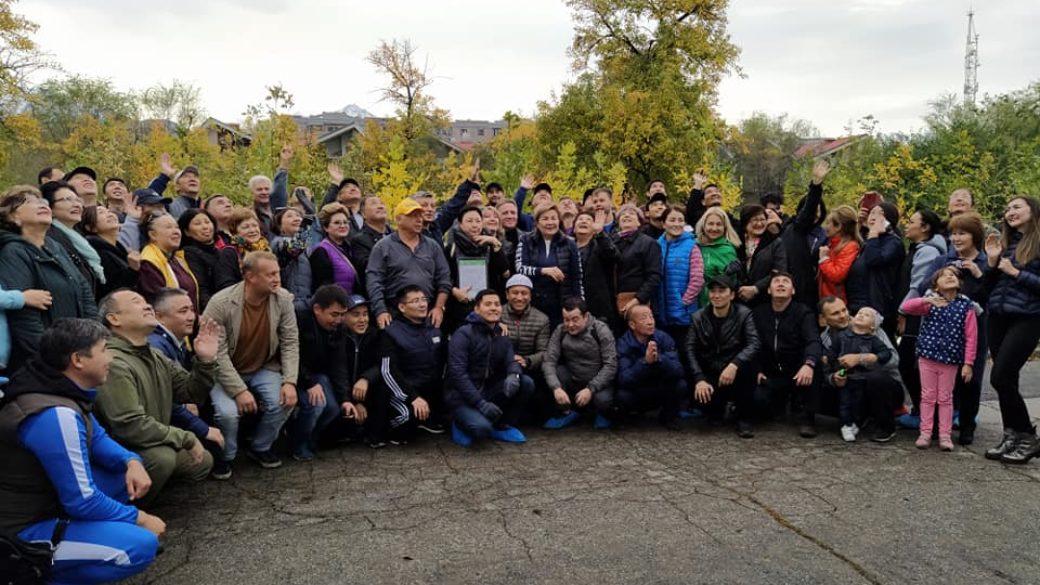 Адвокаты АГКА создали Аллею адвокатов в дар городу Алматы