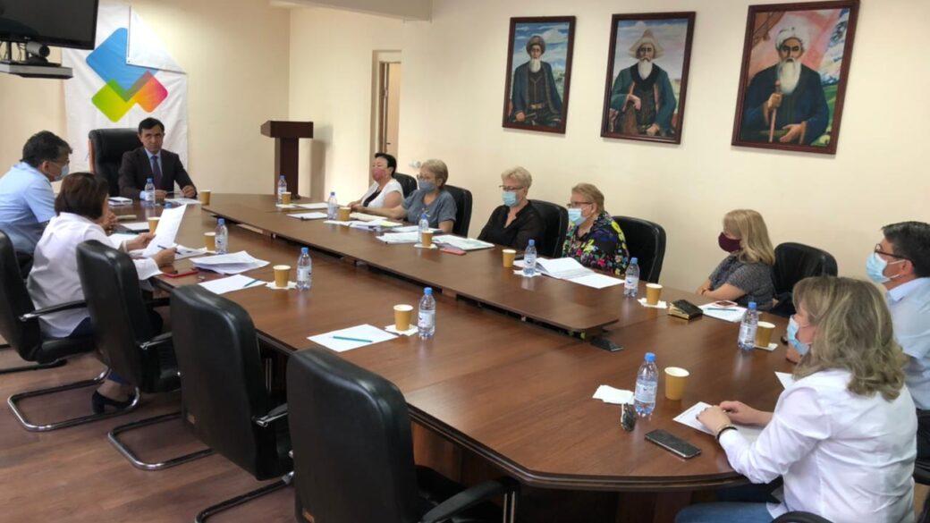 Встреча руководства АГКА с Департаментом юстиции г.Алматы
