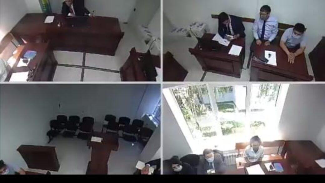 Круглый стол в Следственном суде г. Алматы от 02.07.2021 г.